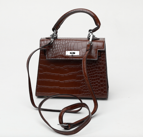 Rachel Brown Croc Crossbody Väska