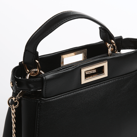 Lovisa Chain Black Crossbody