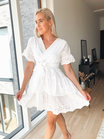 First Date White Dress