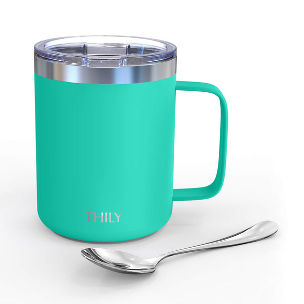 Coffee Mug - Matte Teal