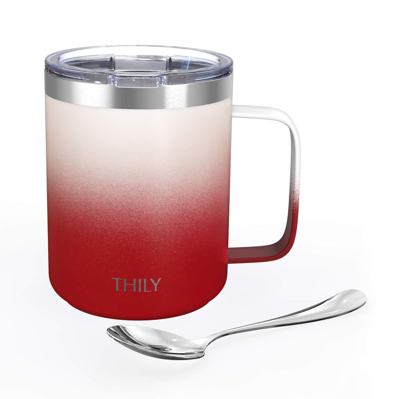 Coffee Mug - Ombre: White & Red