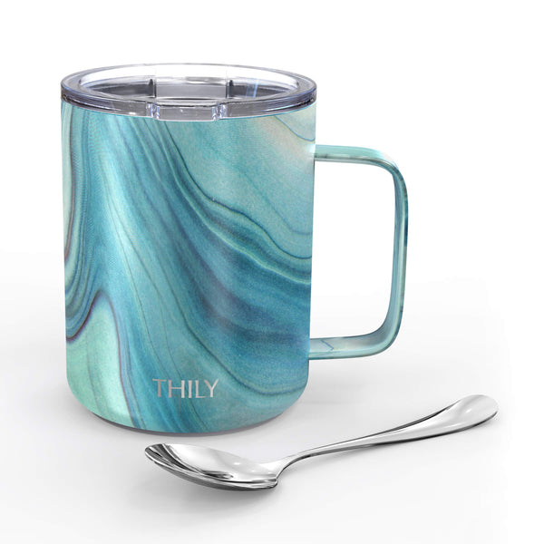Coffee Mug - Blue Swirl