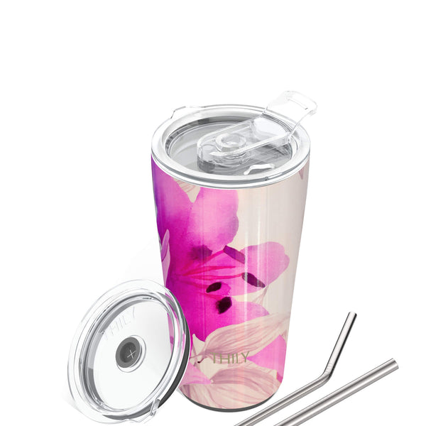 Travel Tumbler | 20 oz | Lotus Flower