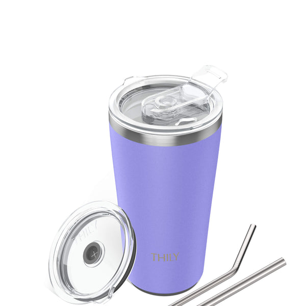 Travel Tumbler | 20 oz | White Lavender