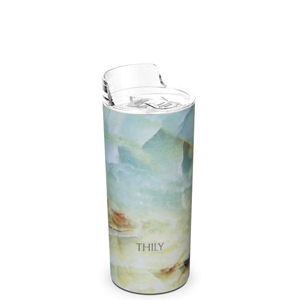 THILY_skinny_tumbler_16_oz_lid_opal_marble