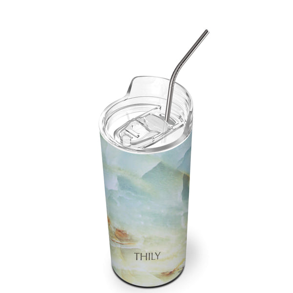 THILY_skinny_tumbler_16_oz_lid_straw_opal_marble