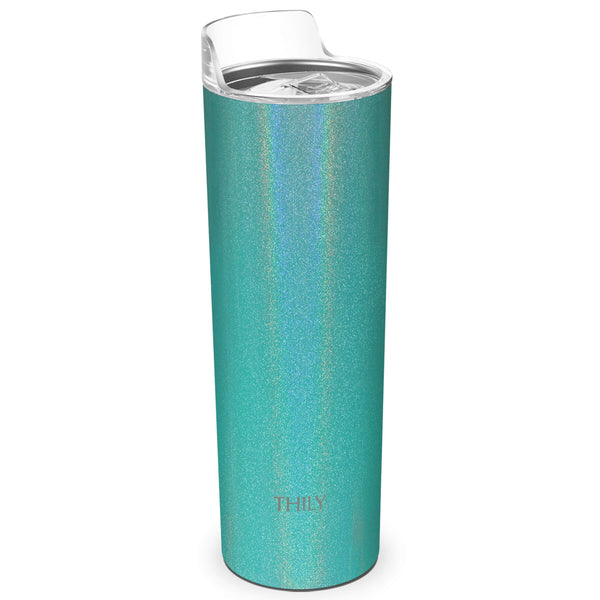 THILY_skinny_tumbler_22_oz_lid_glitter_teal