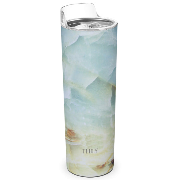 THILY_skinny_tumbler_22_oz_lid_opal_marble
