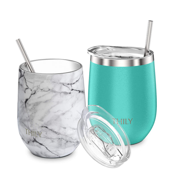 THILY_wine_tumbler_lid_straw_2_pack_marble_teal
