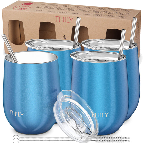 THILY_wine_tumbler_lid_straw_4_pack_gift_box_ssparkle_blue