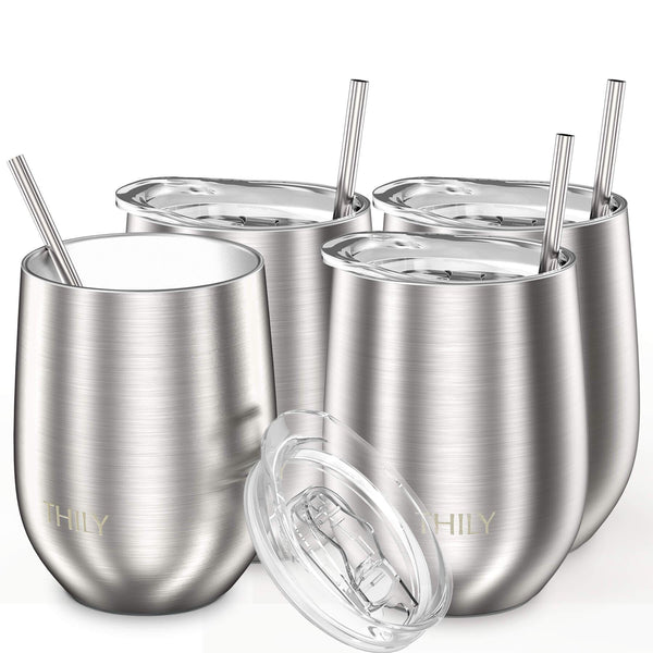 THILY_wine_tumbler_lid_straw_4_pack_sliver