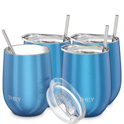 THILY_wine_tumbler_lid_straw_4_pack_ssparkle_blue