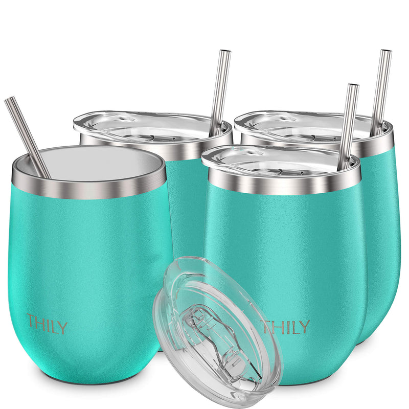 THILY_wine_tumbler_lid_straw_4_pack_teal