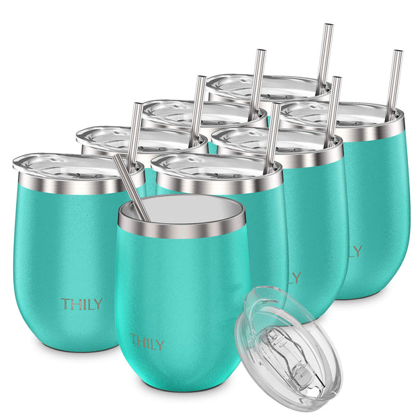 THILY_wine_tumbler_lid_straw_8_pack_teal