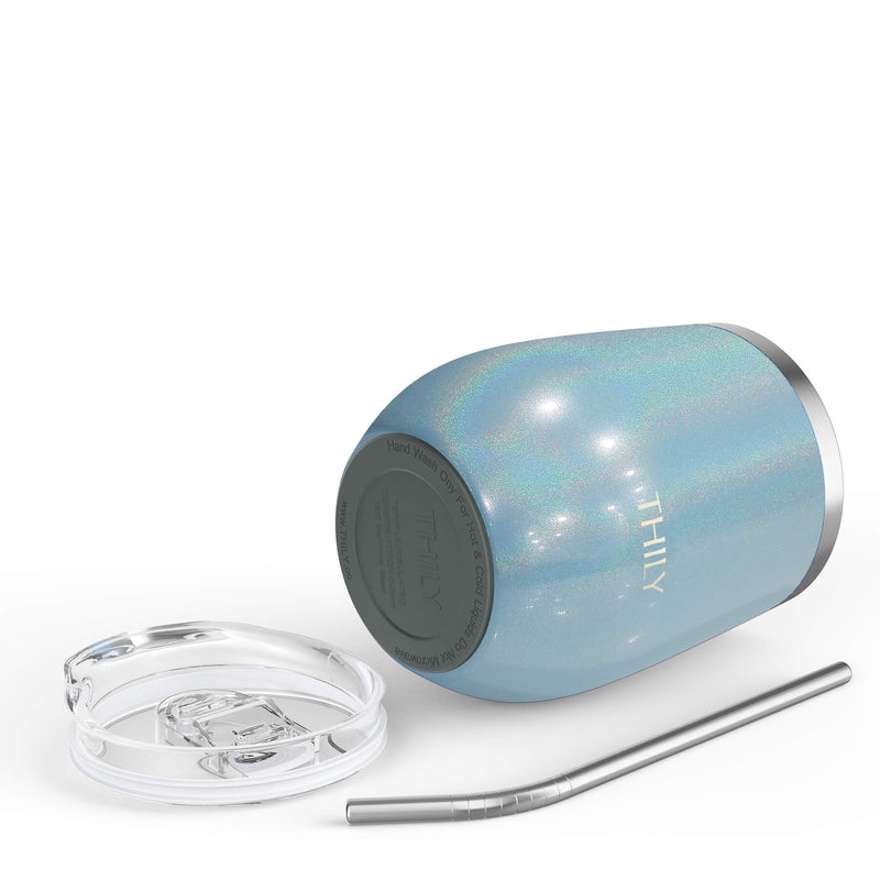 THILY_T2_wine_tumbler_non_slip_bottom_glitter_light_blue