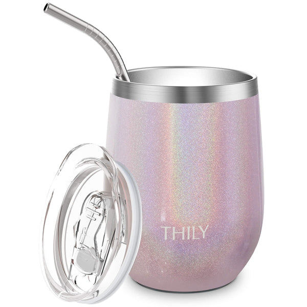 THILY_T2_wine_tumbler_sliding_lid_straw_glitter_romantic_pink