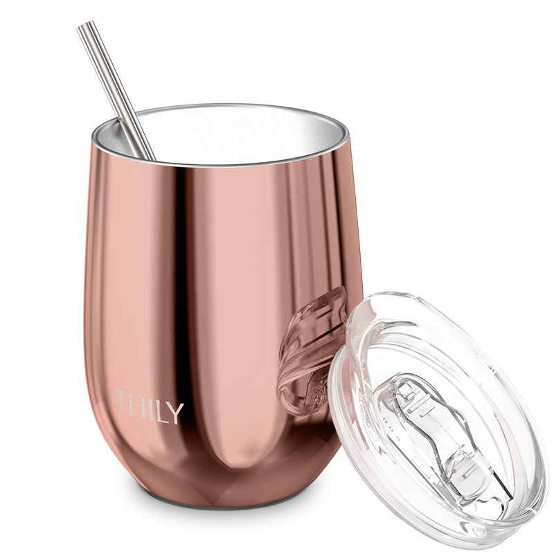 THILY_T1_wine_tumbler_sliding_lid_straw_rose_gold
