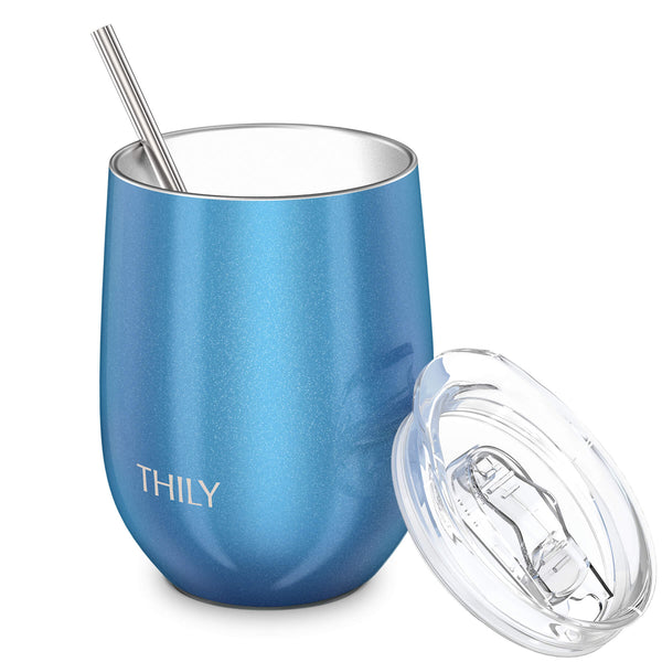 THILY_T1_wine_tumbler_sliding_lid_straw_sparkle_blue