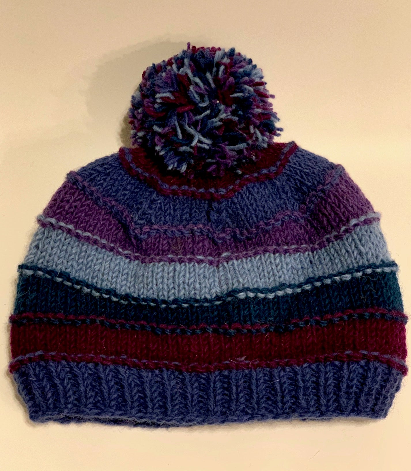 Knit Striped Hat
