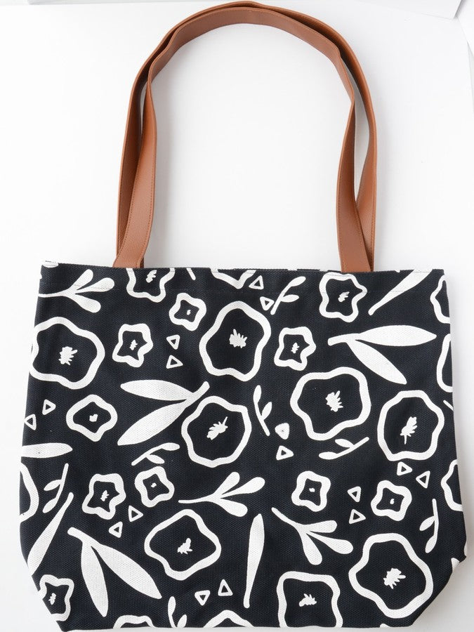 Dark Poppy XL Tote