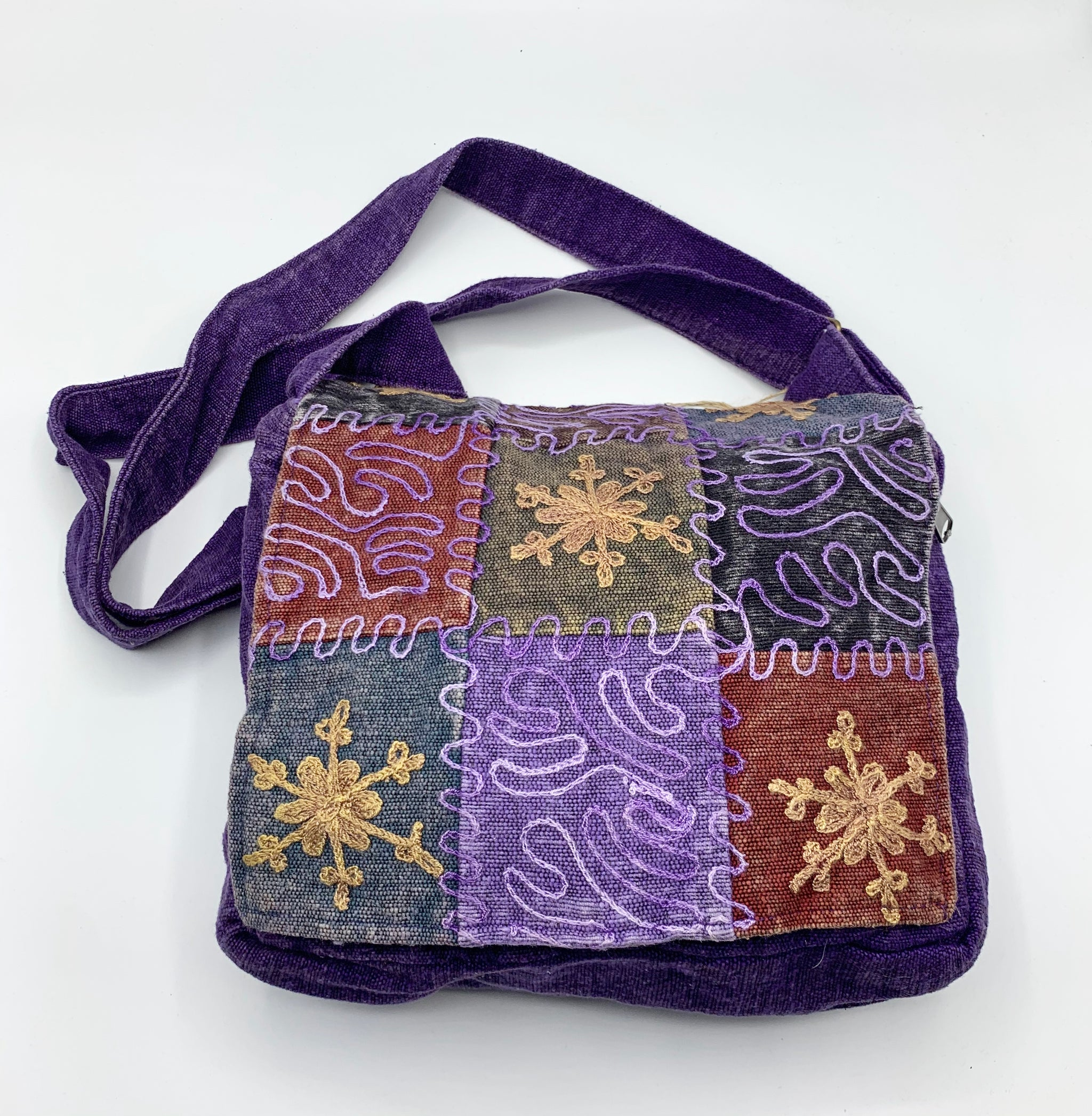 Patchwork Crossbody / Shoulder Bag