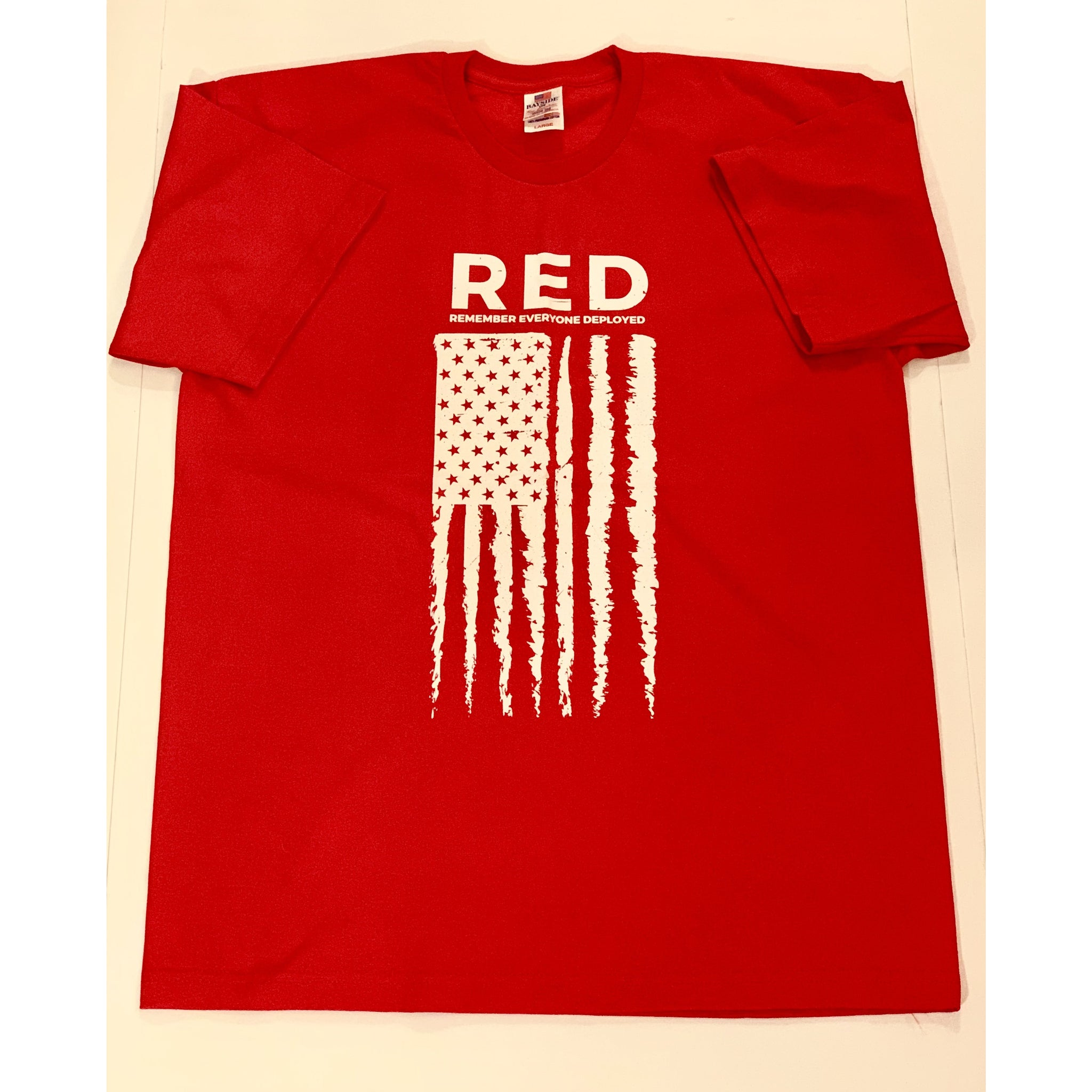 Short Sleeve Tee - RED (Remember Everyone Deployed)