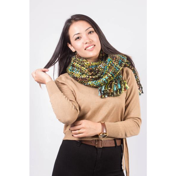 Colorful Chuncky Scarf
