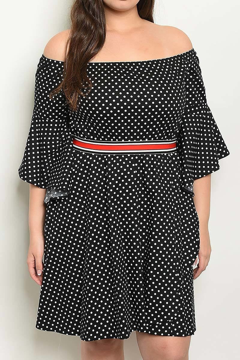 Baby Doll Polka Dot Dress