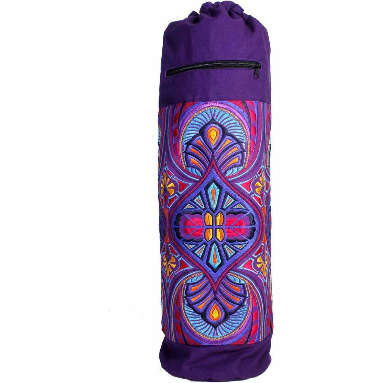 Fair Trade Tribal Tahj Yoga Bag with Drawstring