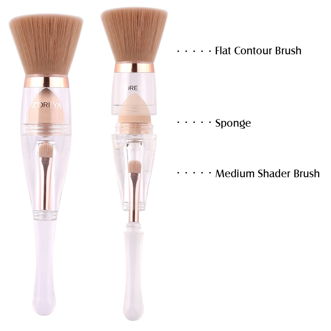 Trio Zoreya Brush - Cosmetic Brushes for Travel