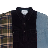 Flannel Corduroy Denim Shirt