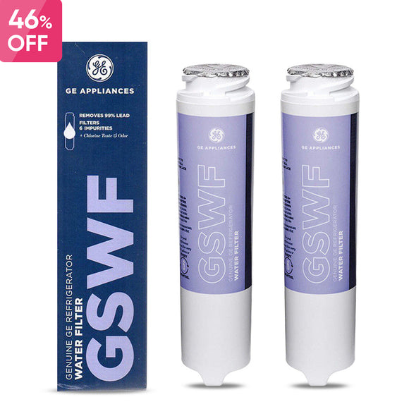 Fit GE SmartWater GSWF Replacement Refrigerator Water Filter Fridge Cartridge - discountfridgefilter