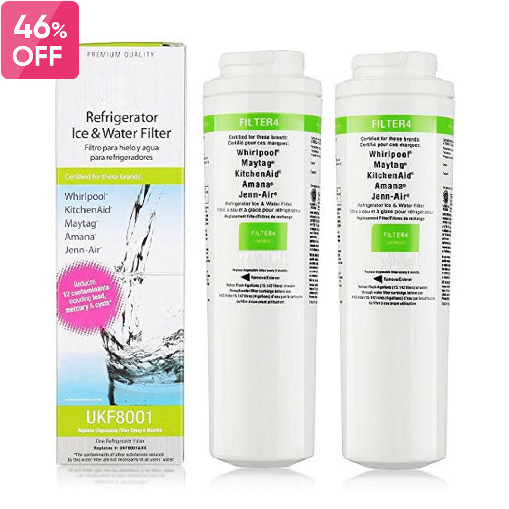 Fit Maytag UKF8001 Refrigerator Water Filter 4 EDR4RXD1 4396395 469006 by  Whirlpool Fridge Filter