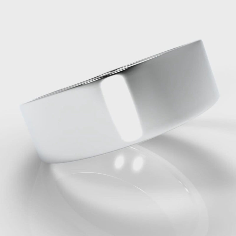 7mm Flat Top Comfort Fit Wedding Ring