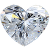 0.43 Carat G-Color VS2-Clarity Heart Diamond