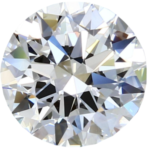 0.50 Carat E-Color VS1-Clarity Round Diamond