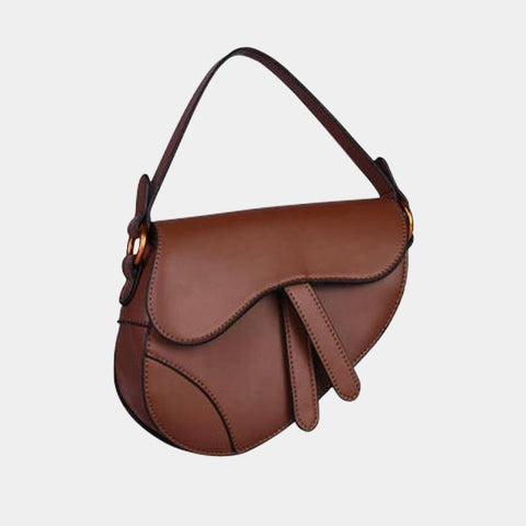 Saddle Flap Limiterte Tasche Braun