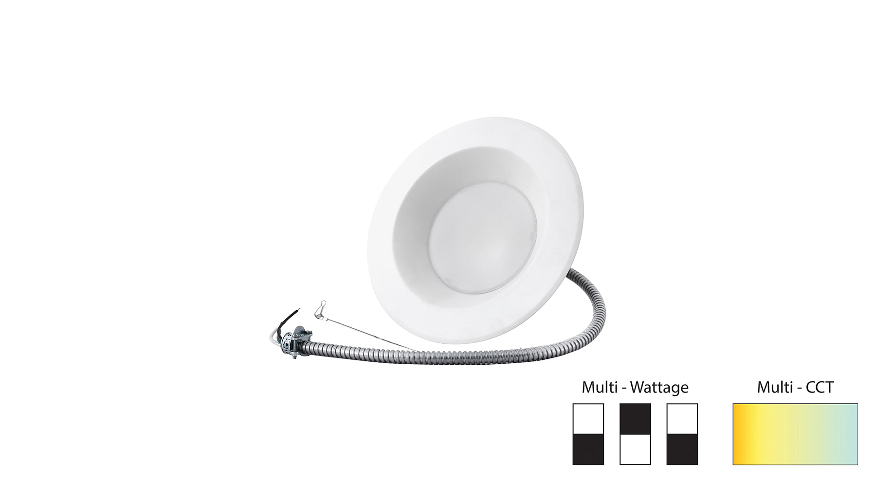 10W - 22W 6 inch LED Commercial Downlight Multi-Watt / CCT - LEDone - CSLED
