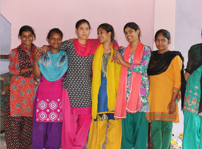 Helping Indian girls with menstrual health
