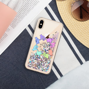 We Are All Soulmates - Liquid Glitter Phone Case