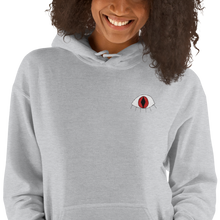 Load image into Gallery viewer, I see - Embroidered Hooded Sweatshirt