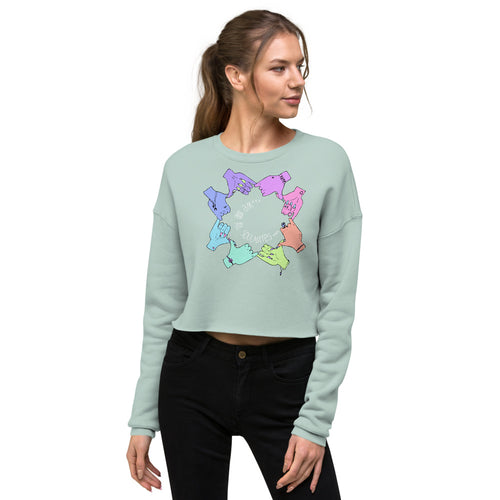 We Are All Soulmates - Crop Sweatshirt