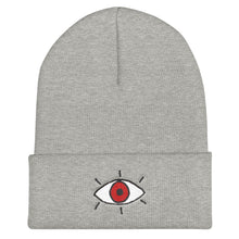 Load image into Gallery viewer, 3rd eye - Embroidered Cuffed Beanie