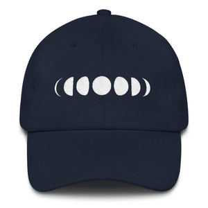 Moon phases - Embroidered Dad hat