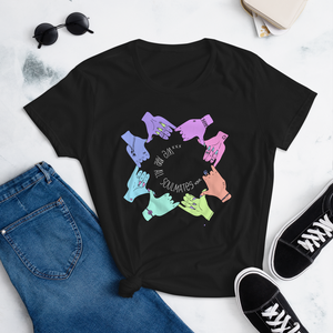 We Are All Soulmates - Women's short sleeve t-shirt