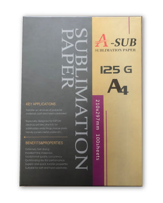 A-Sub Dye Sublimation Paper