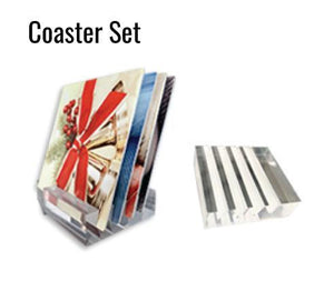 VB HD Metal - Coaster Set