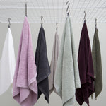 Organic Cotton Towel Plum