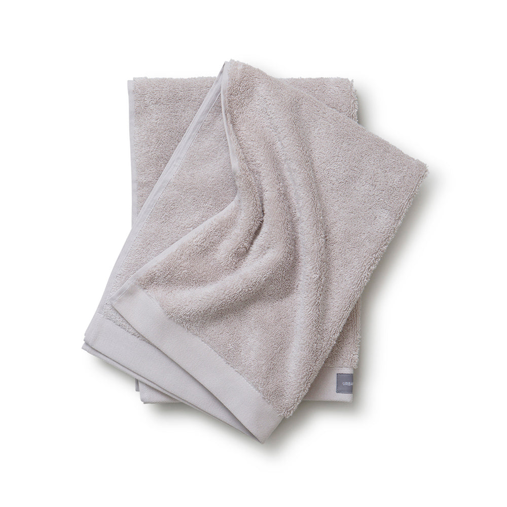 Organic Cotton Towel Light Grey