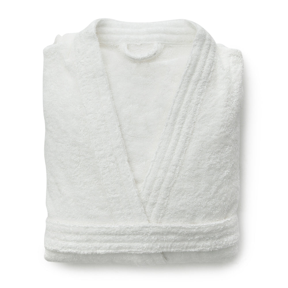 Organic Cotton Robe White